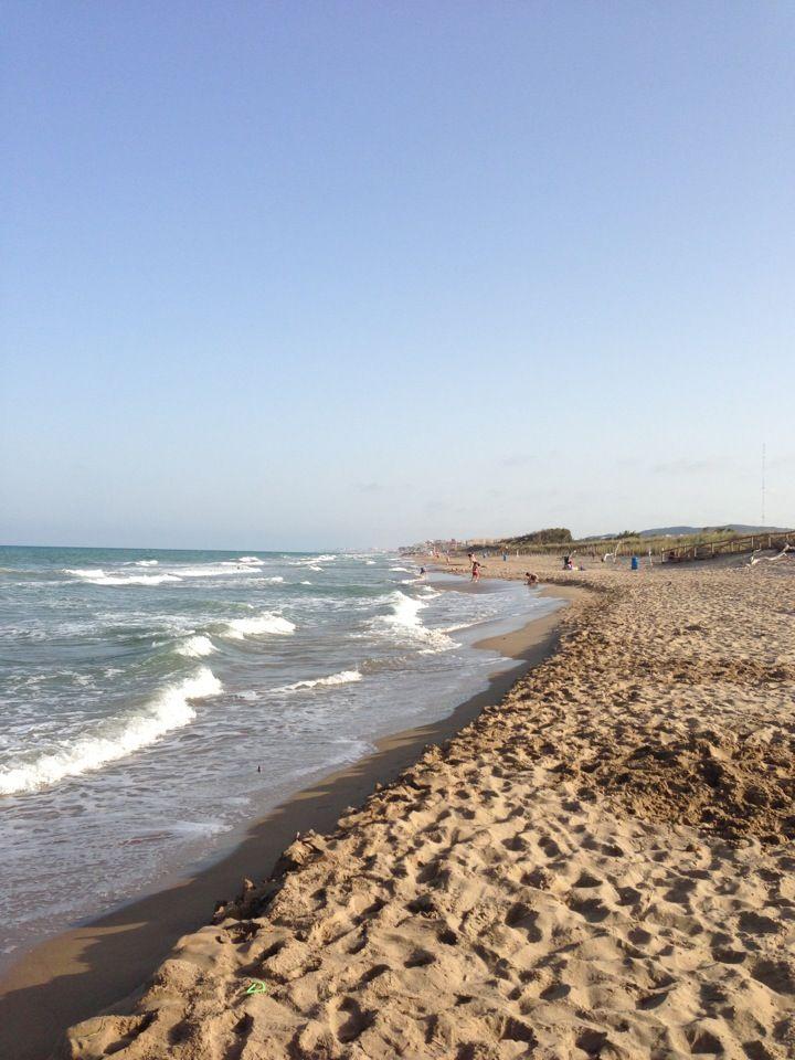 Foto playa Los Viveros.