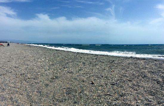 Foto playa Cerrillos / Punta Entinas.