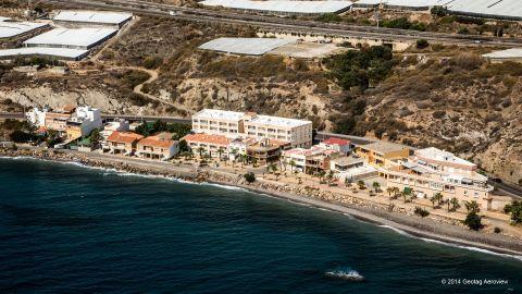 Foto playa La Alcazaba / Playa de Las Conchas / Playa de La Calderilla.