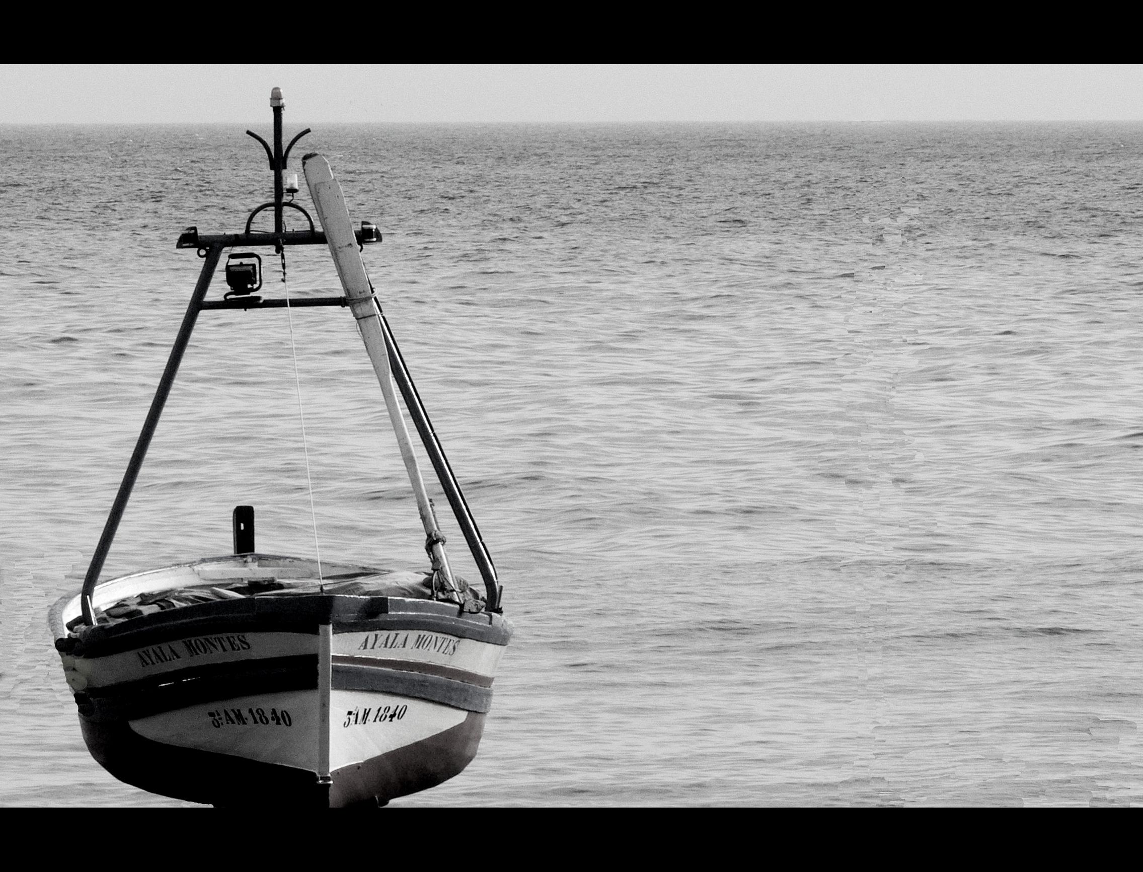 Foto playa Caletilla. en suspensión