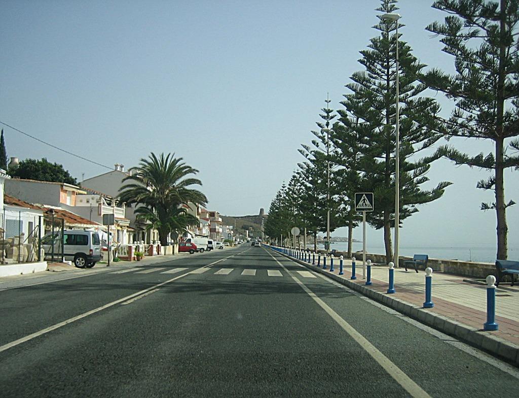 Foto playa Pijil / Lagos. Lagos, Costa del Sol, Spain