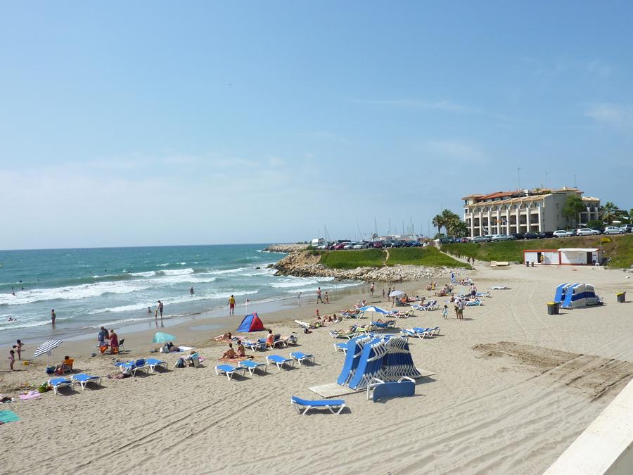 Foto playa Playa Aiguadolç.