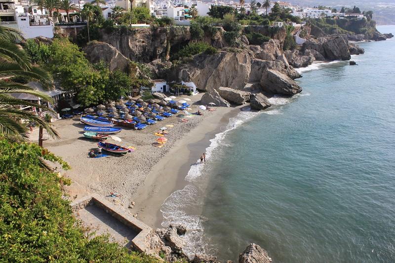 Foto playa Calahonda.