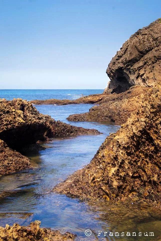 Foto playa Calas Bot y California.