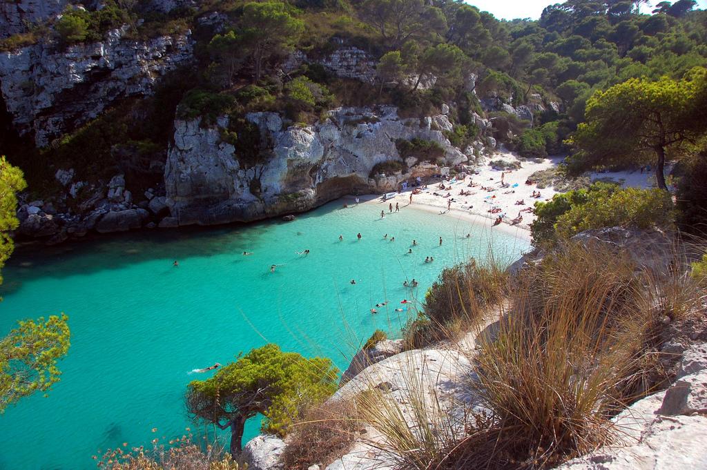 Foto playa Cala Banyalbufar.