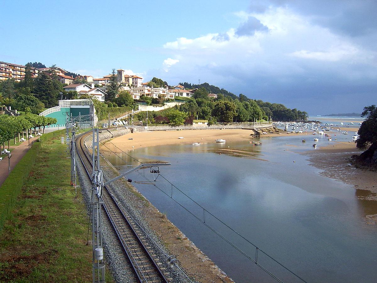 Foto playa Isuntza.