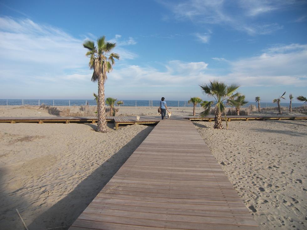 Foto playa El Bovalar.