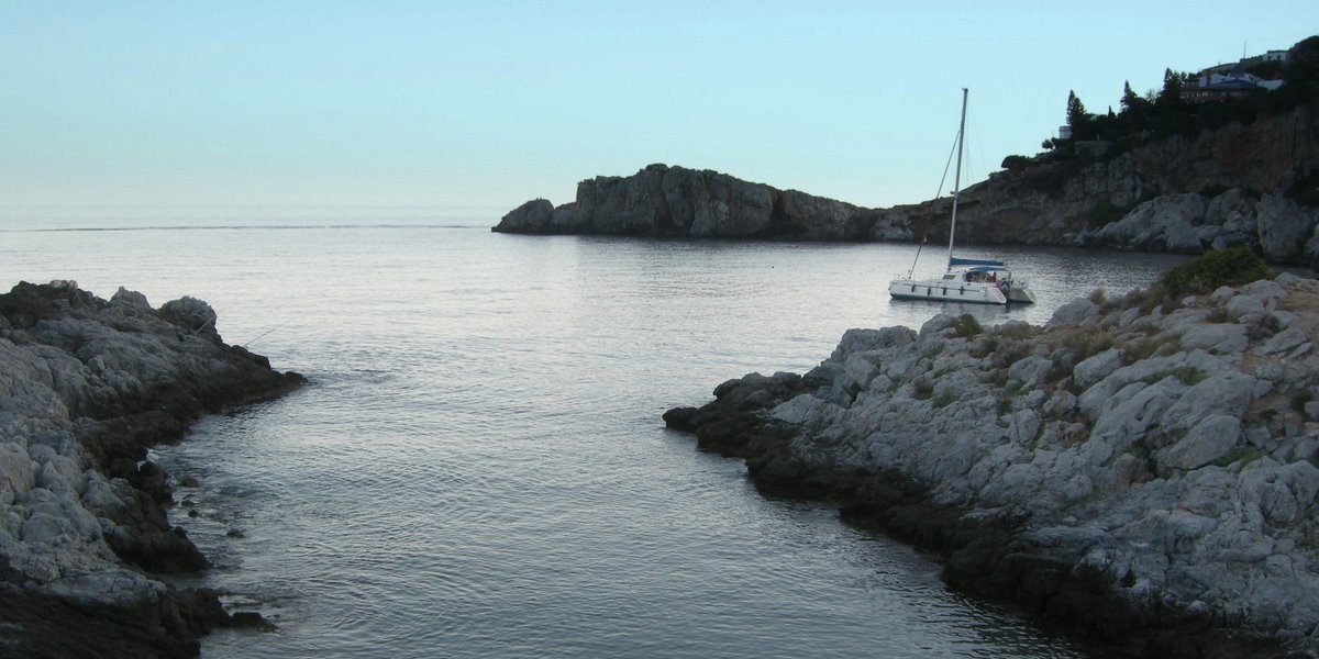 Foto playa El Muerto. La punta de la Mona
