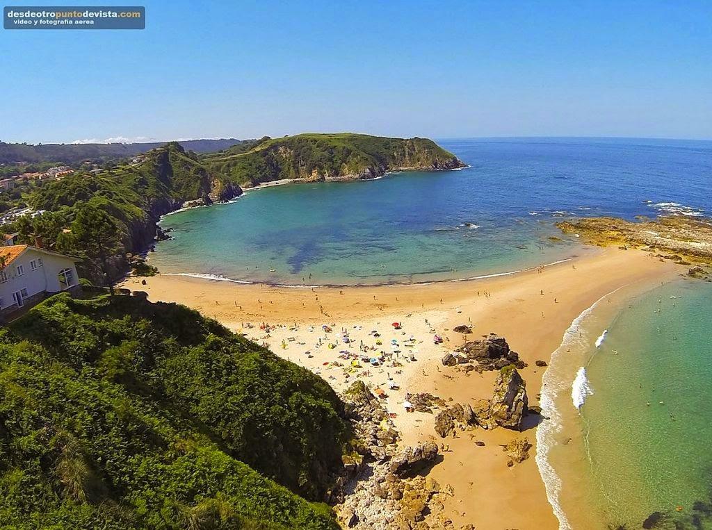 Foto playa El Pedrero / El Pedreru.