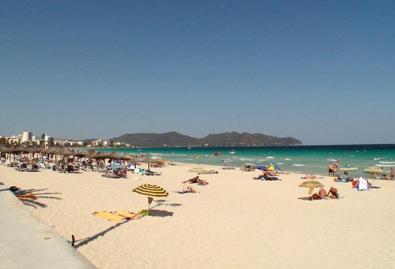 Foto playa Cala Bona.