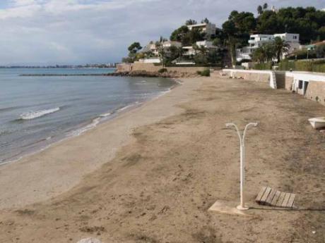 Foto playa Platgetes de Bellver.