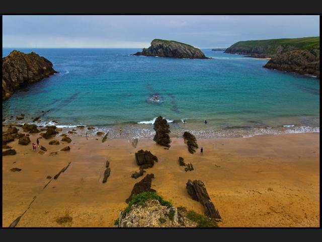 Foto playa Es Caná.