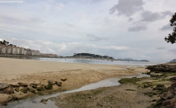 Foto playa Os Frades.