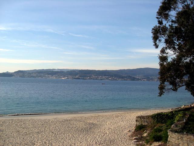 Foto playa Ribeira.