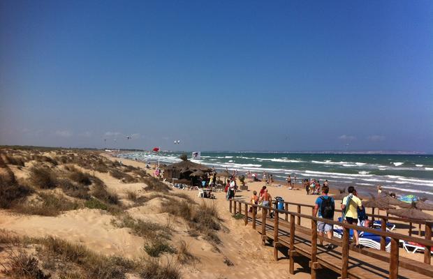 Foto playa El Rebollo / Les Pesqueres.
