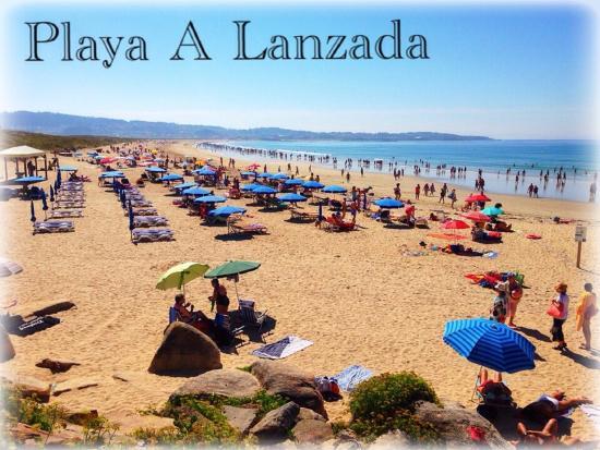 Foto playa De Argazada / Azul / Laxón.