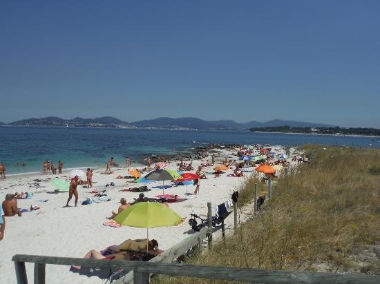 Foto playa Fontaíña / A Sirenita.