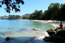 Foto playa O Vao / O Bao.