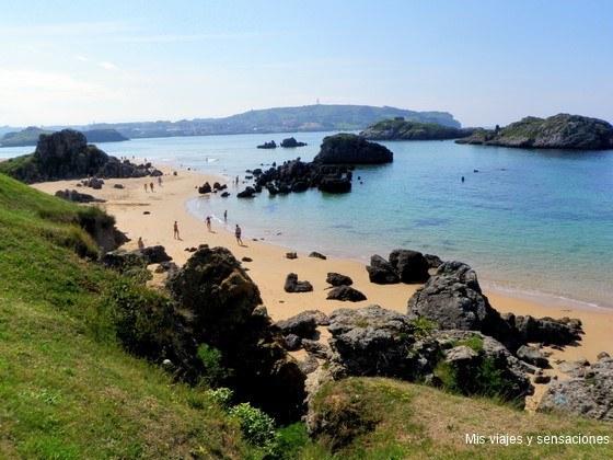 Foto playa Caneliñas.