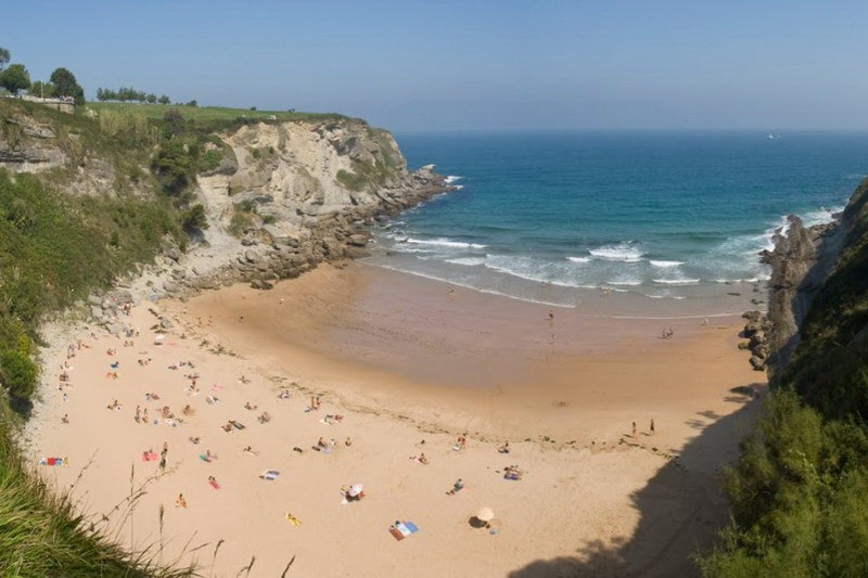 Foto playa Canelas.