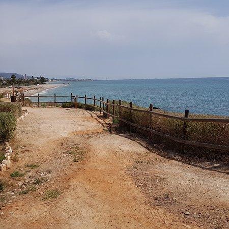 Foto playa Les Cases d'Alcanar.