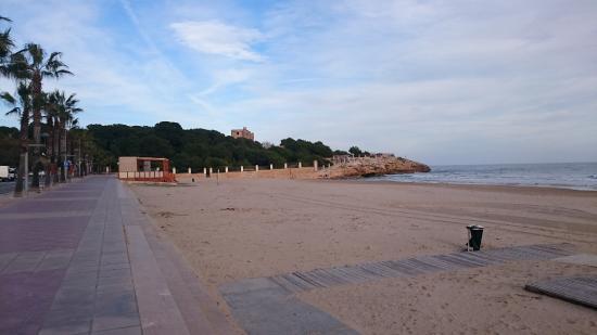 Foto playa L´Arrabassada.