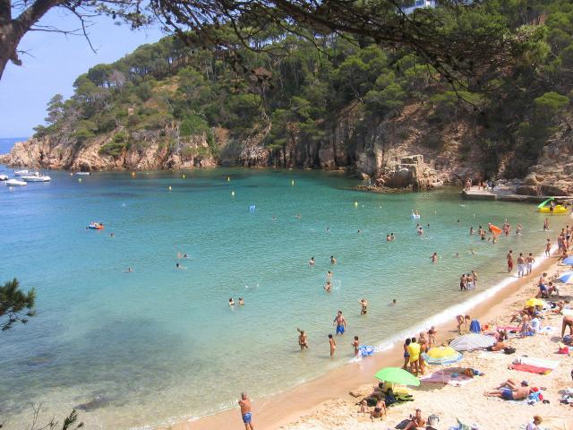 Foto playa Sant Jordi.
