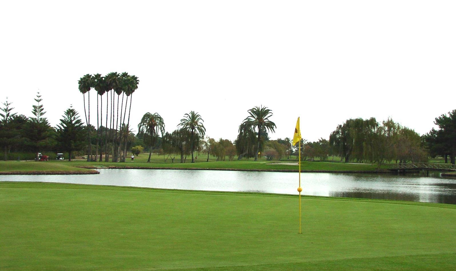 Foto playa Sotogrande. Real Golf de Sotogrande