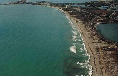 Foto playa Ensenada del Esparto.