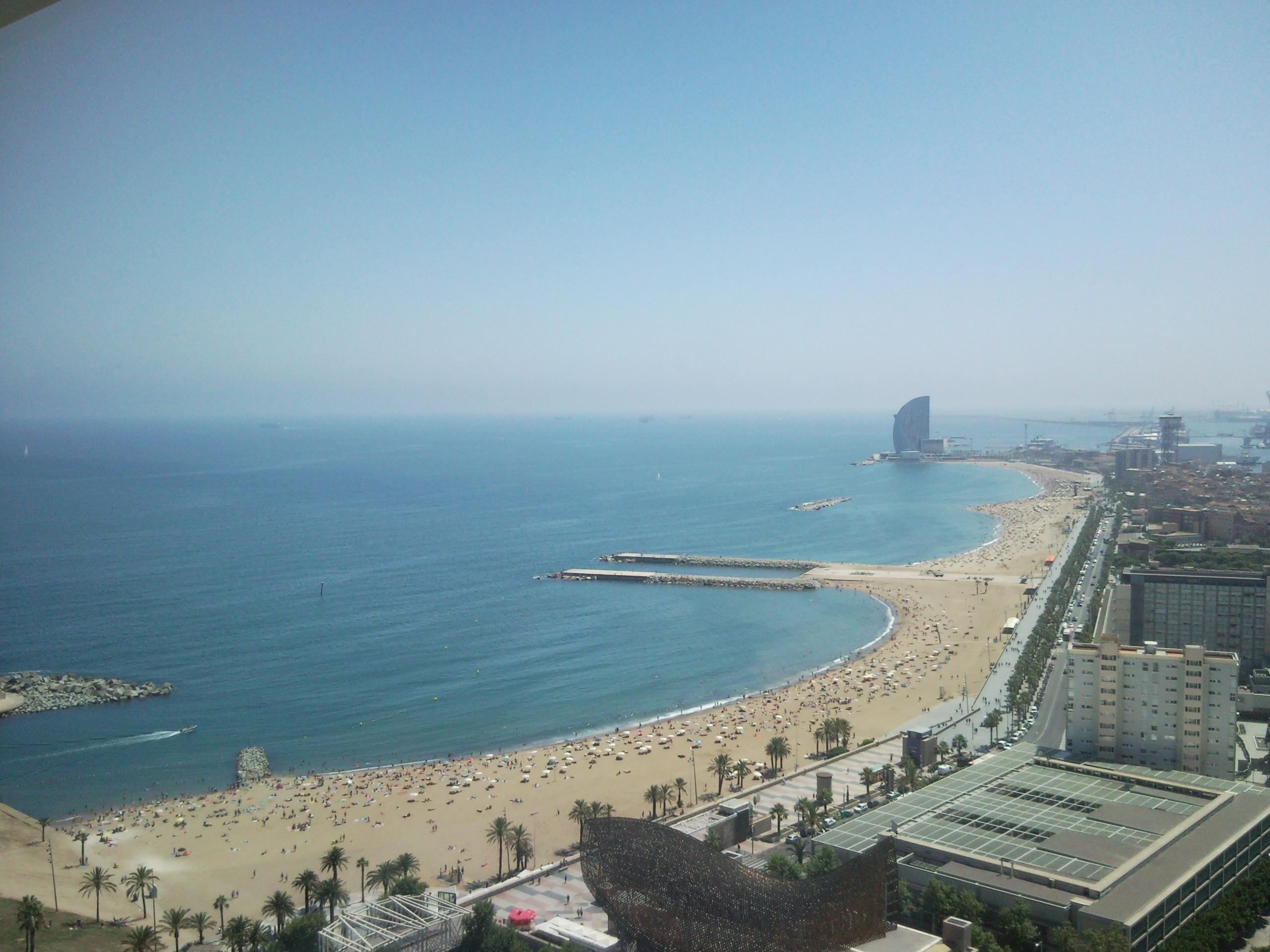 Foto playa El Castellar.