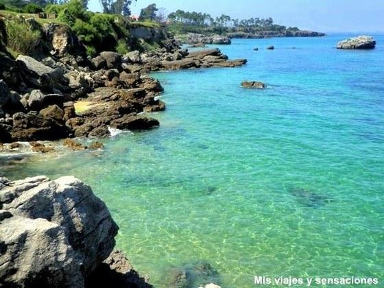 Foto playa Cala Llenya.