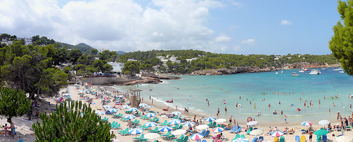 Playa S´Arenal Gran / S´Arenal Gran de Portinatx