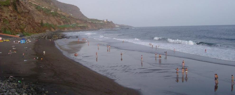 Foto playa El Socorro.