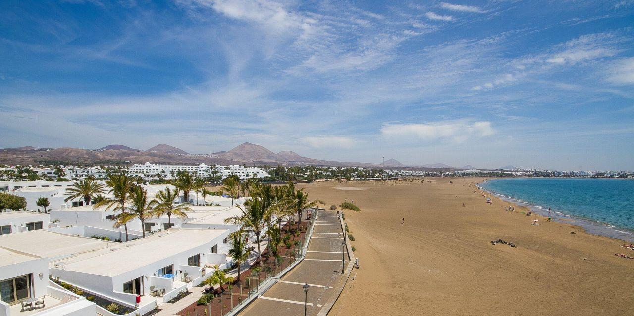 Foto playa Los Pocillos.