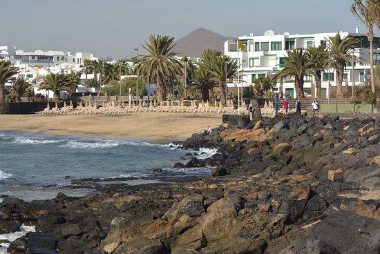 Foto playa Las Cucharas.
