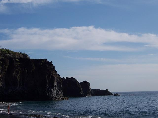 Foto playa El Charco Verde.