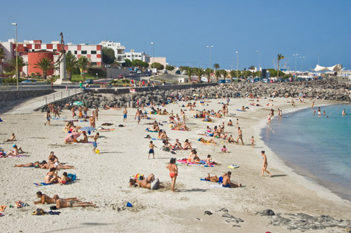 Foto playa Los Pozos / Playa Chica.