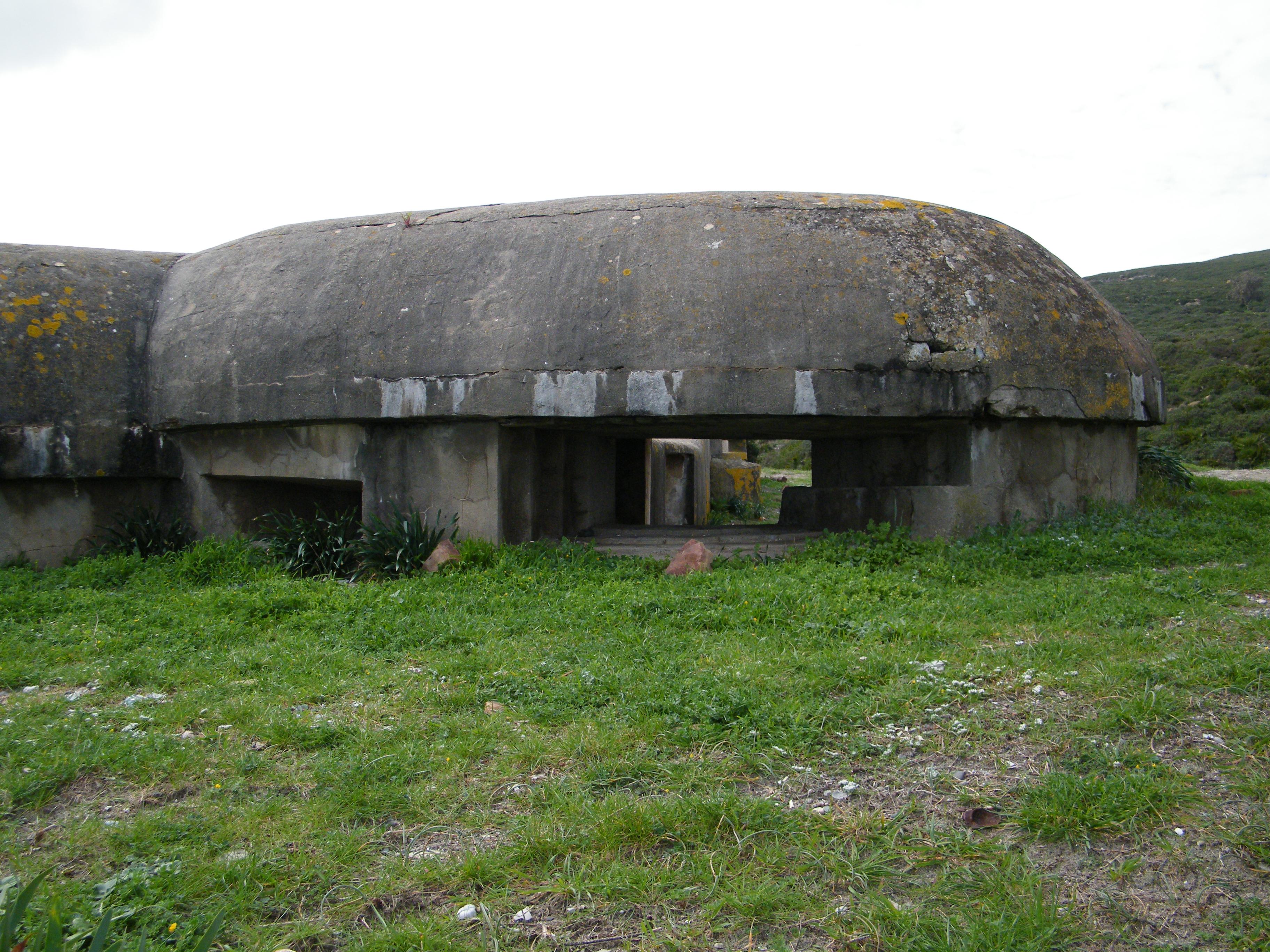 Foto playa La Hacienda / Santa Clara. Bunker costero 2ª Guerra Mundial