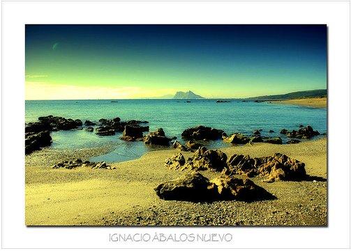 Foto playa La Hacienda / Santa Clara. playa alcaidesa