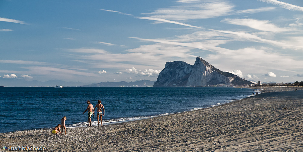 Foto playa La Hacienda / Santa Clara. Playa de la Alcaidesa y Gibraltar
