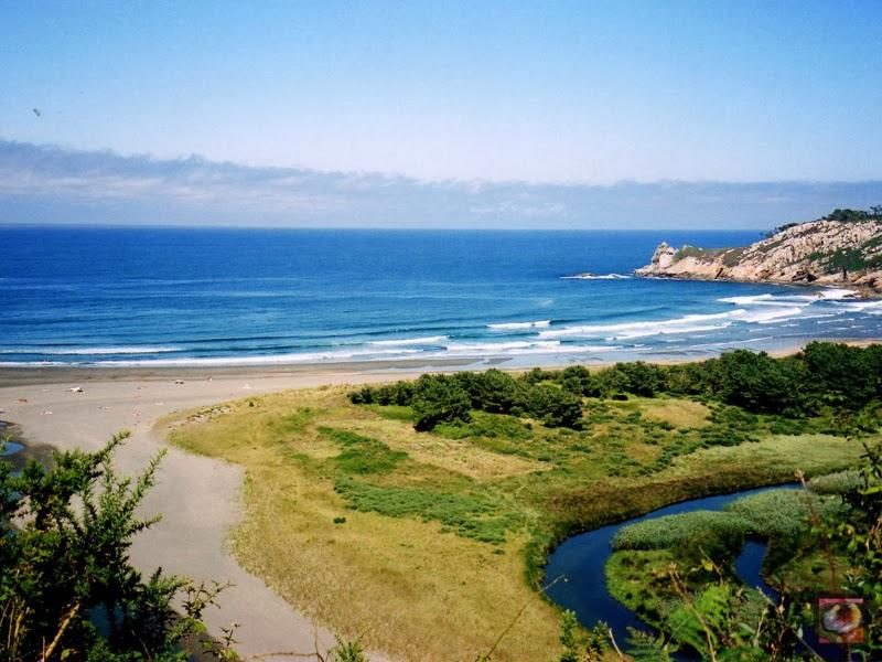 Foto playa O Con.