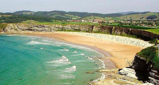 Foto playa Baltar / Portonovo.