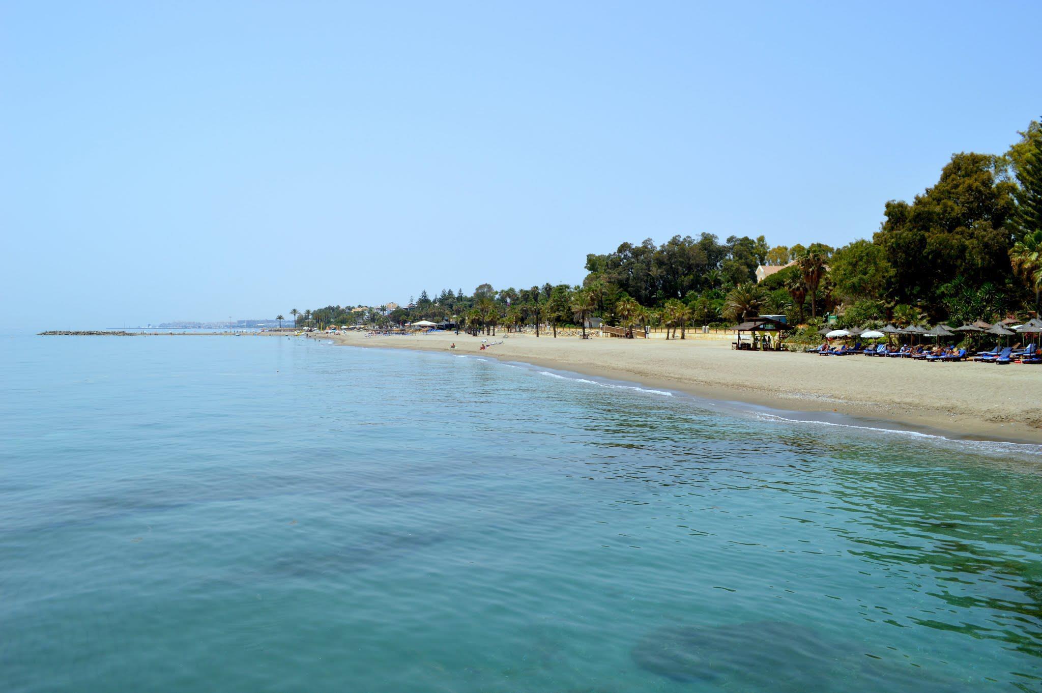 Foto playa Casablanca / Marbella Club.