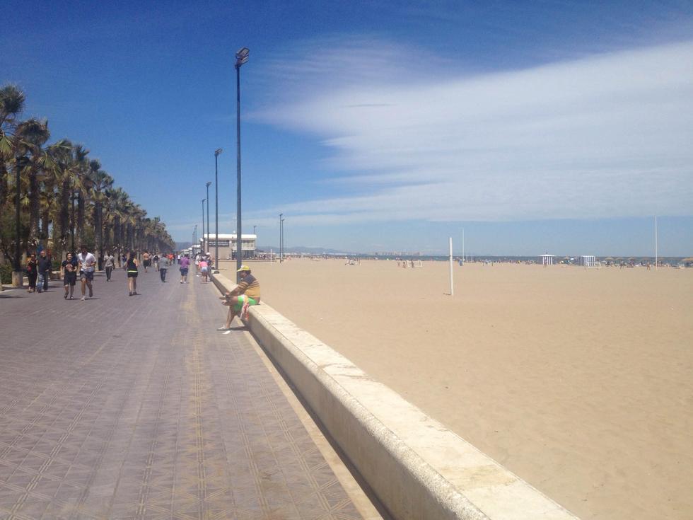 Foto playa La Casica Verde.