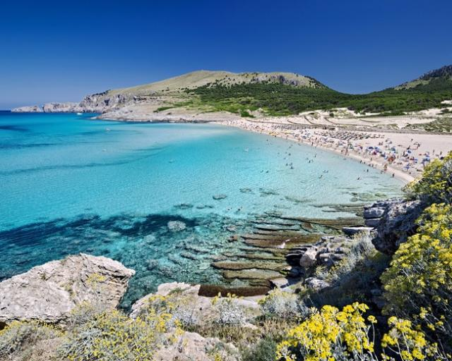 Foto playa Cala Comtessa.
