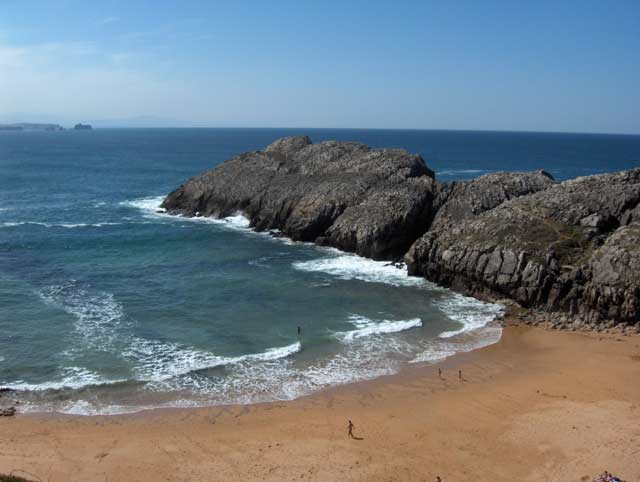 Foto playa El Burrero.