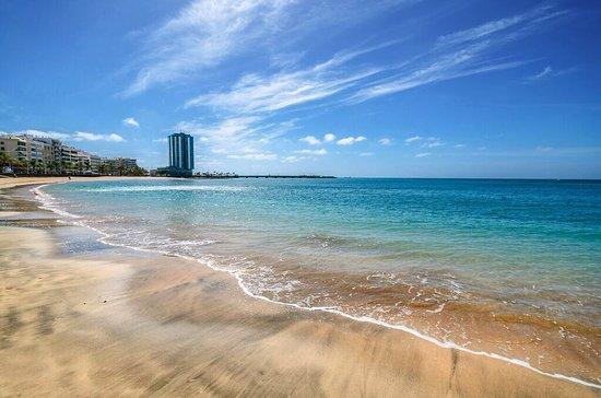 Foto playa El Reducto.