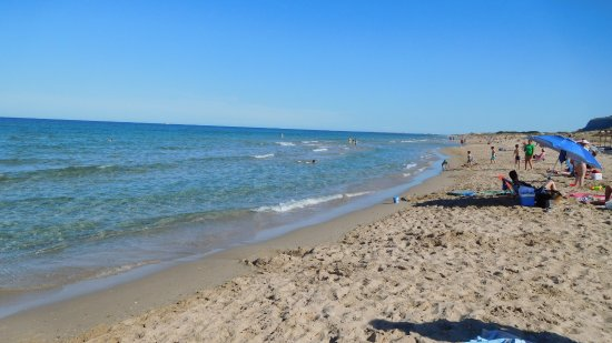 Foto playa La Mina.
