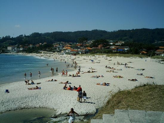 Foto playa A Noiva.
