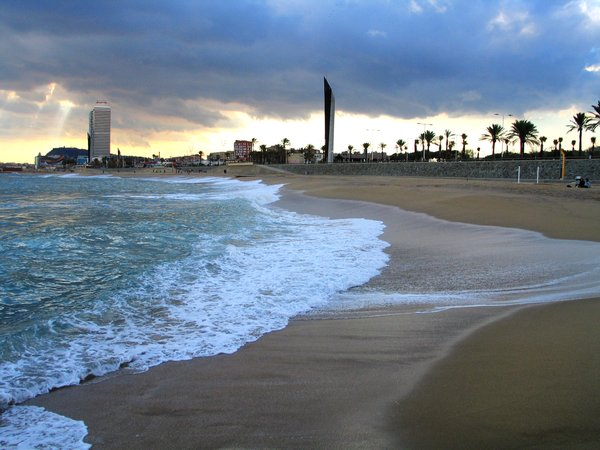 Foto playa El Serrallo.